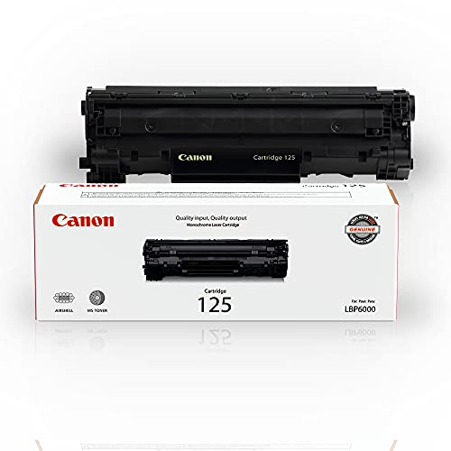 Canon Original 125 Toner Cartridge - Black ( packaging may vary )