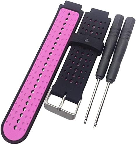 N-K Ersatz-Uhrenarmband Forerunner Anwendbar für alle 15 Farben Silikon-Sturzschutz Nützlich und praktisch