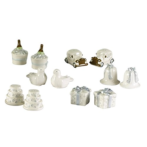 Grasslands Road Whimsy Road Wedding Table Mini Salt and Pepper Shaker Assortment (36 Sets)