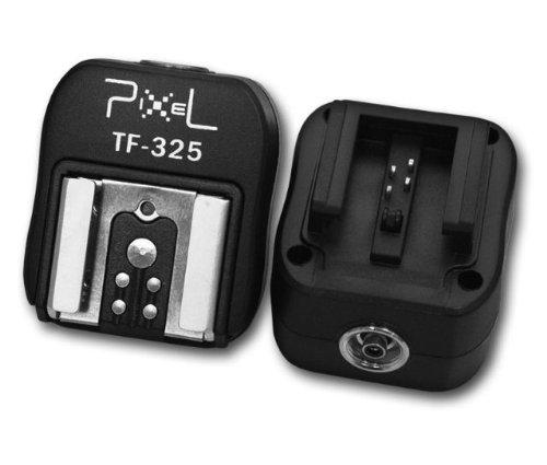 Pixel TF-325 - Adaptador de zapata para cámaras Sony Alpha, negro