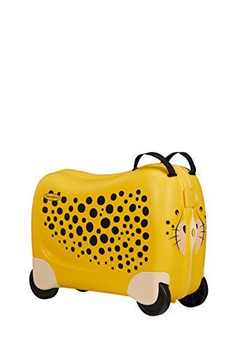 Samsonite Dream Rider Valigia per Bambini, 51 cm, 28 l, Giallo (Cheetah C.)
