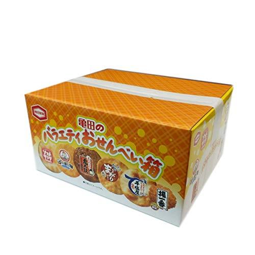 亀田のバラエティおせんべい箱 154g×12箱