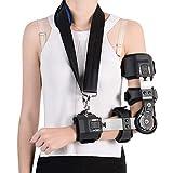 Z-ZH Supporto Regolabile per articolazione del Gomito, Imbracatura del Braccio con Angolo di avambraccio, Supporto protettore per Riabilitazione correzione frattura Braccio