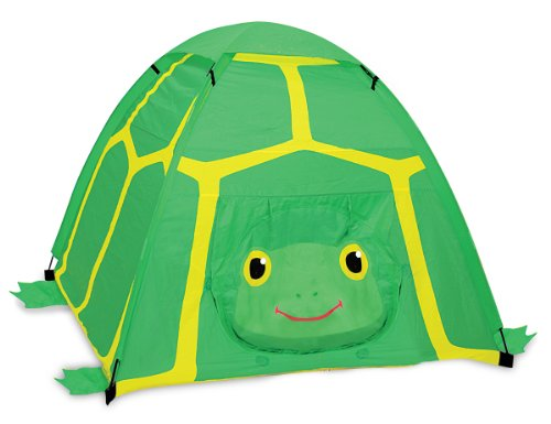 Melissa & Doug Sunny Patch Tootle Turtle Camping Tent