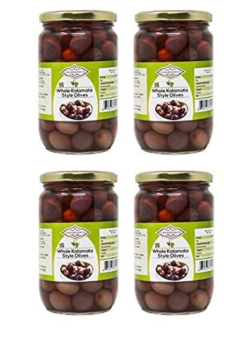 Casablanca Whole Kalamata Style Max 48% OFF Olives 4 380g OZ Jars 25.397 Surprise price