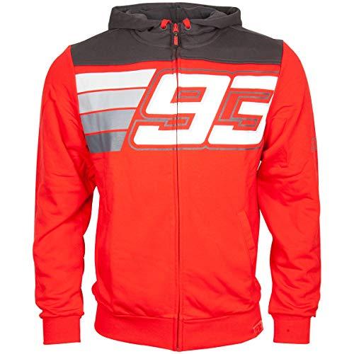 Marc Marquez Sudadera con Capucha 93 Grafico Big Ant Red MotoGP Oficial 2020
