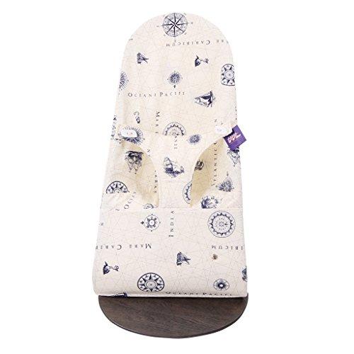 TititNins© - Funda para Hamaca Babybjorn Balance Soft y Bliss RUMBO.(**Sustituye tapicería original) +40 tejidos