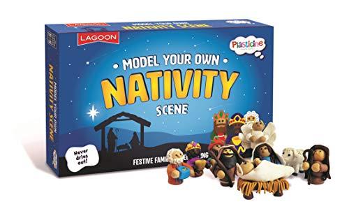 Lagoon Group- Plasticine Model Your Own Nativity Scene Presepe, Multicolore, 6768