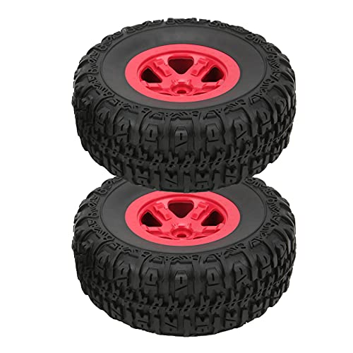 1/10 RC Neumáticos Para Camiones De Recorrido Corto, Neumáticos De Goma RC De Agarre Fuerte Fáciles De Instalar Para HQ727