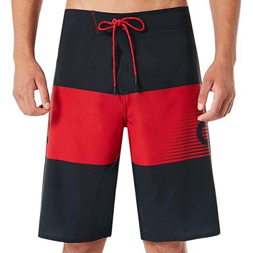 Oakley Herren Buttermilk Biscuit 21 Shorts, red line, 52
