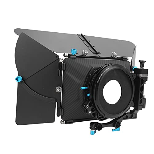 DP500III Caja mate, caja mate abatible Cubo de sombreado Kit de cámara Cubo de sombreado, parasol abatible con anillo de espuma de 64 mm / 76 mm / 84 mm / 88 mm / 98 mm / 104 mm Compatible con lentes