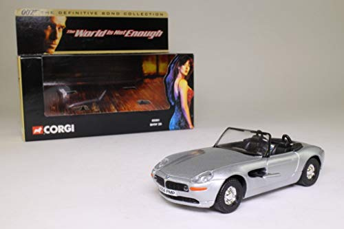 Corgi james bond 007 BMW Z8決定版コレクションカー1:36スケールダイキャストモデル