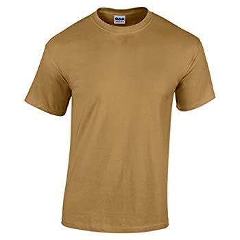 Gildan Heavy Cotton Adult Tshirt - 47 Colours / S - 3XL - Old Gold - 2XL