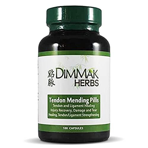 Tendon Mending Pills Tendon and Ligament Regeneration and Repair by Dimmak Herbs - 400 Milligrams  100 Capsules
