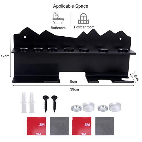KEESIN Asciugacapelli Supporto per Bacchetta per Curling Montato su Bigodino per Capelli Dyson Airwrap Styler e 7… Cura della persona