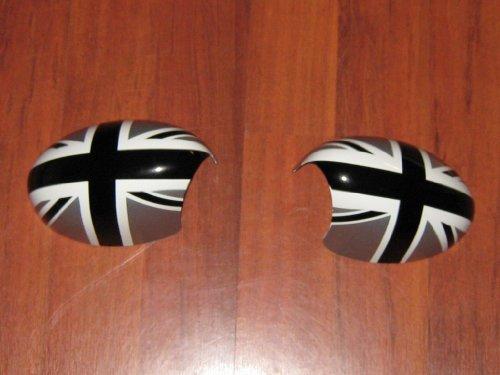 Original MINI Außenspiegel-Kappen Blenden Black Jack R55 R56 R57 R58 R59 R60 - ohne Beikl.