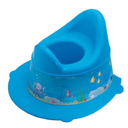Rotho Babydesign Pot pour Enfants Ocean StyLe! Pot pour Enfants, Avec partie supérieure amovible, À partir de 18 Mois, StyLe!, Bleu, 20213012576