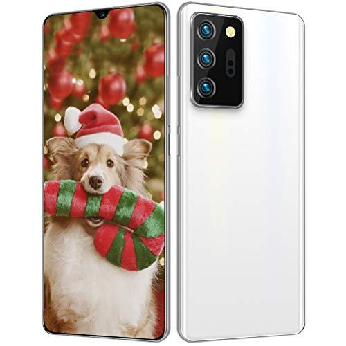ZXYSR Telefonia 4G, 6,6 Pollici HD Goccia d'Acqua Schermo Batteria da 5000 mAh Telefonini 18MP + 48MP Pixel 4 GB + 64 GB Sblocco col Sorriso Doppia SIM Android 10.0, Cellulare