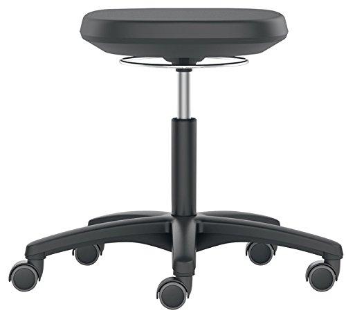 Bimos-Sitztechnik Interstuhl Büromöbel GmbH & Co Drehhocker Labsit m. Rollen Integralschaum Sitz-H. 450-650mm BIMOS