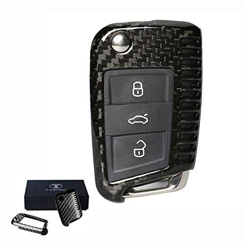 Coque pour cl/é de voiture /à t/él/écommande en ABS avec un porte-cl/és en m/étal et en cuir Kwaks
