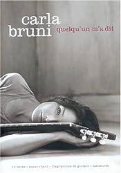 Partition : Carla Bruni, quelqu\'un m\'a dit p/v/g