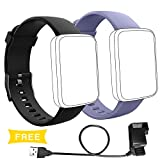 Lintelek Replacement Bands and Charger Set for Smart Watch H19, Adjustment Replacement Straps and Charger
