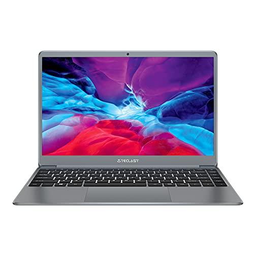 TECLAST F7PLUS 2 Notebook Portatile 14.1 Pollici 256 GB SSD, 8 GB RAM, Intel Celeron N4100, Graphics 600, Windows 10 Grigio