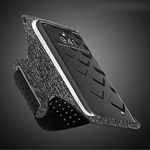 Venuy 6.2 pulgadas cómodo transpirable Correr teléfono titular caso deporte teléfono móvil brazalete Smartphone brazo banda