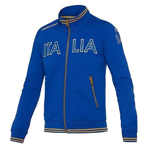 Macrin Herren Sweatshirt Fir Rugby Junior Italia - Men's Fir Italy Rugby Junior, JXL