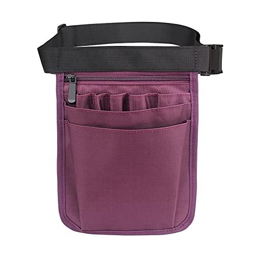 XKUN Riñonera Fanny Pack Affilling Belt Anganizer para Mujer Enfermera Bolsa De Cintura Bolsa De Hombros Bolsa De Cintura Nylon Bolsets
