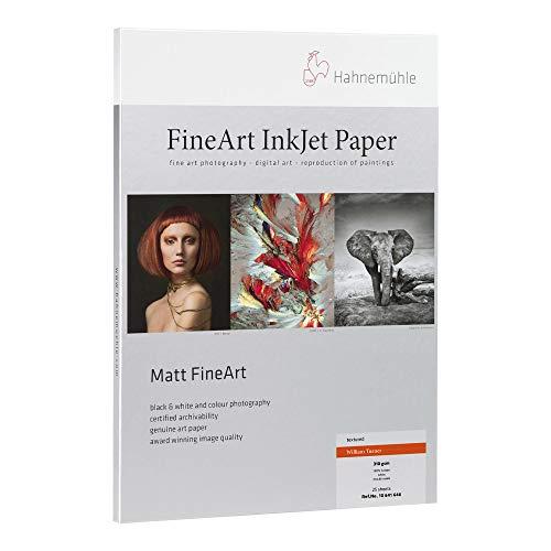 Hahnemuhle William Turner Matt Fine Art Inkjet Paper (8.5 x 11 Inch, 25 Sheets)