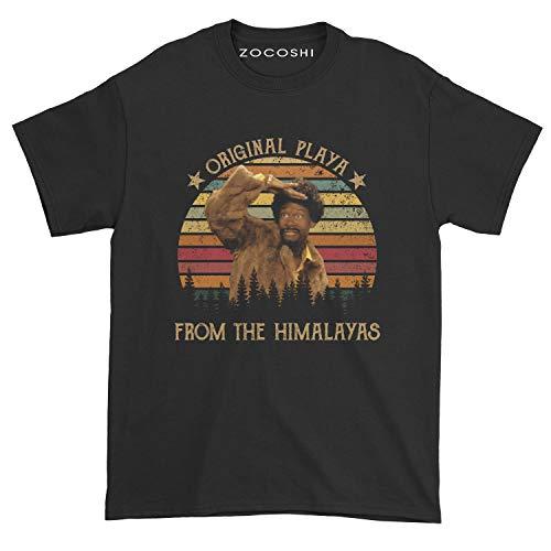 Men's Original Playa from The Himalayas T-Shirt (Black, XL)