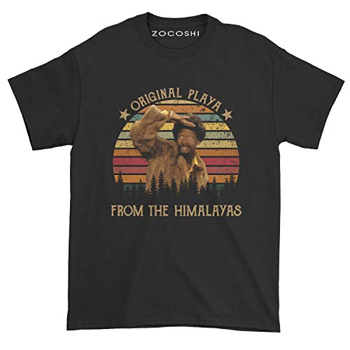 Men's Original Playa from The Himalayas T-Shirt (Black, XL)