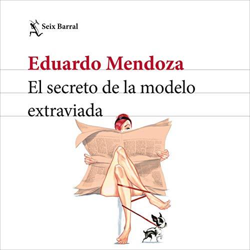 Diseño de la portada del título El secreto de la modelo extraviada
