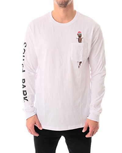 HUF x Southpark Mr Hanky Pocket Long Sleeve T-Shirt Small White