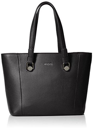 HUGO - Mayfair Sm Shopper, Bolsos totes Mujer, Negro (Black), 13x25x29 cm (B x H T)