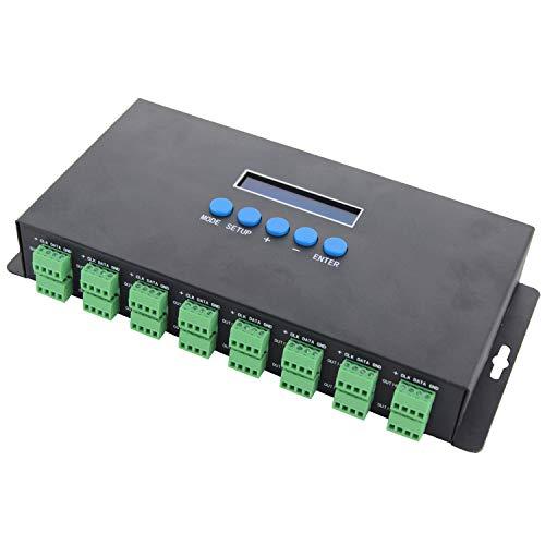Noblik Bc-216 Zwei Kan?le Mit 16 Kan?len Artnet Zu Spi/Dmx Ws2811 Ws2812B Sk6812 2801 8806 Led Controller 340Pixels 16Ch Dc5V-24V