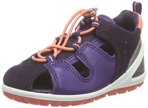 Ecco ECCO LITE INFANTS SA, Unisex Baby Lauflernschuhe Sandalen, Violett (NIGHT SHADE/CROWN JEWEL58890), 22 EU (5.5 Baby UK)