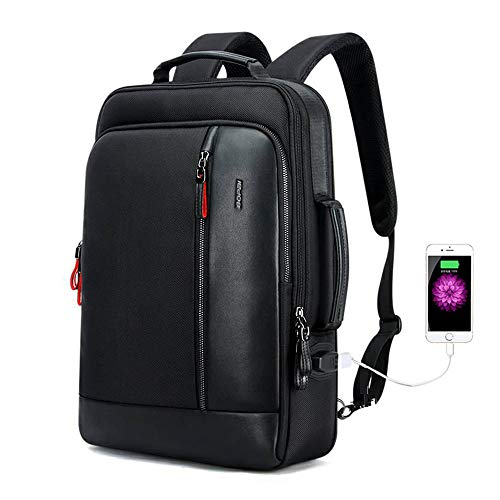 Bopai Intelligent Increase Backpack and Anti-Theft Laptop Rucksack with USB Charging Business Laptop...