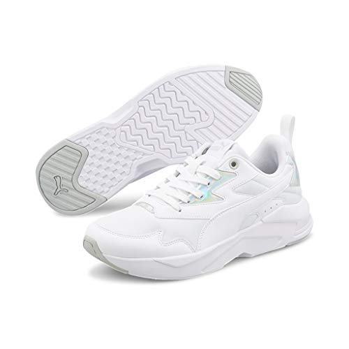 Puma X-Ray Lite Metallic Wmn's, Zapatillas Deportivas Mujer, White, 37.5 EU