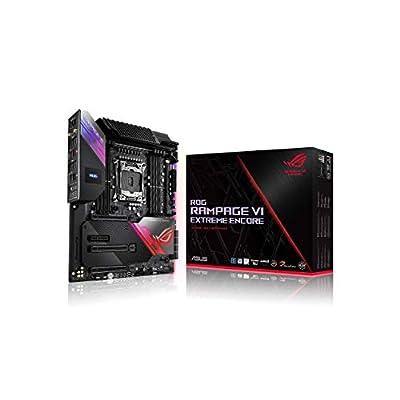 ASUS ROG Rampage VI Extreme Encore, X299 LGA 2066 E-ATX Gaming Motherboard for Intel Core X-Series Processors with Aura Sync RGB Lighting