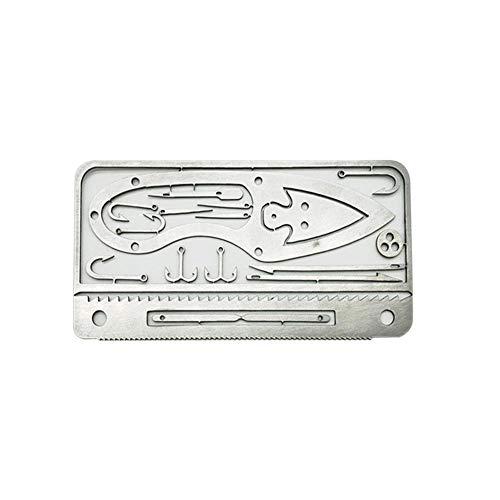 sycamorie Survival Card Tool,Lebensrettende Tool Outdoor Camping Liefert Multifunktionale Überleben Werkzeug Angelausrüstung Für Camping Und Wildnis Überleben