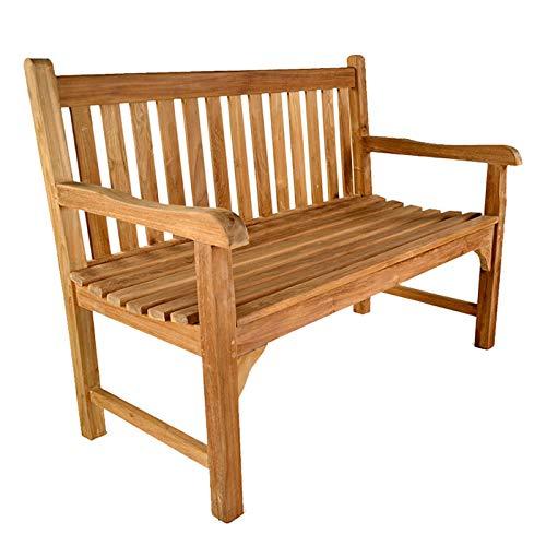Warwick 2 seat Grade A Teak Garden Bench L:120cm