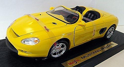 31815 Maisto Special Edition Mustang Mach III, Gelb 1 18 Scale Diecast by Maisto