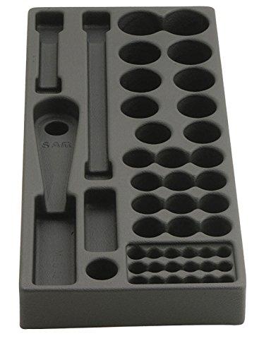 SAM Outillage MOD-13 Module vide pour douilles et accessoires 1/2, Noir