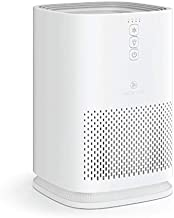Medify MA-14 Air Purifier with H13 True HEPA Filter   200 sq ft Coverage   for Smoke, Smokers, Dust, Odors, Pet Dander   Quiet 99.9% Removal to 0.1 Microns   White, 1-Pack