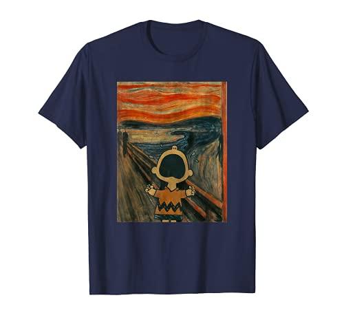 Peanuts Charlie Brown Scream Artsy T-Shirt