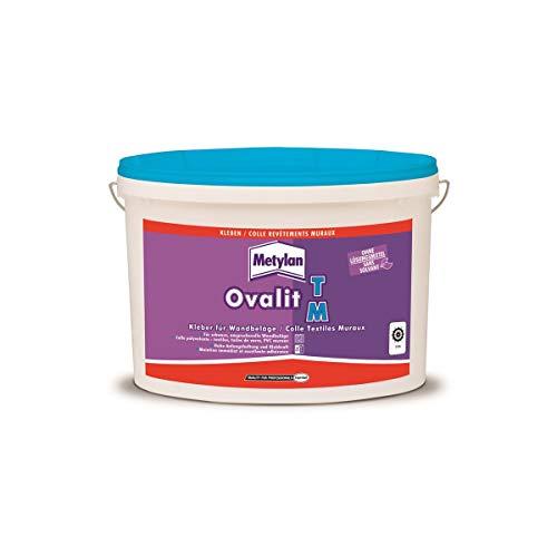 Metylan Colle pour Revêtements Textiles Muraux et Toiles de Verre, Seau de 5 Kg, 25 M²