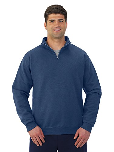 Jerzees – 1/4 zip Cadet Sweat col - - X-Large