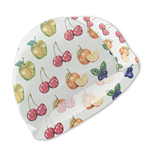 Les Baies de Bain de Fruit de la Passion de Cerise de Myrtille badinent Le Bonnet de Bain Confortable imperméable